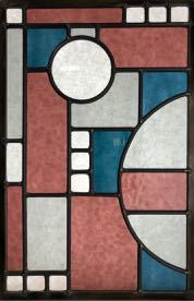 beginner lead stained glass example