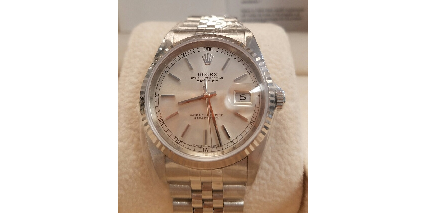 Certified Pre-Owned Rolex Watches