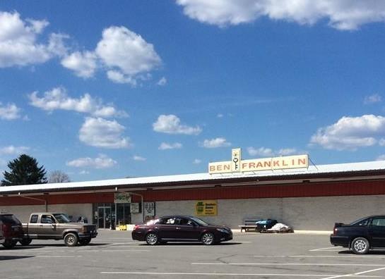 Ben Franklin Muncy Store and Townville Pharmacy Muncy, PA