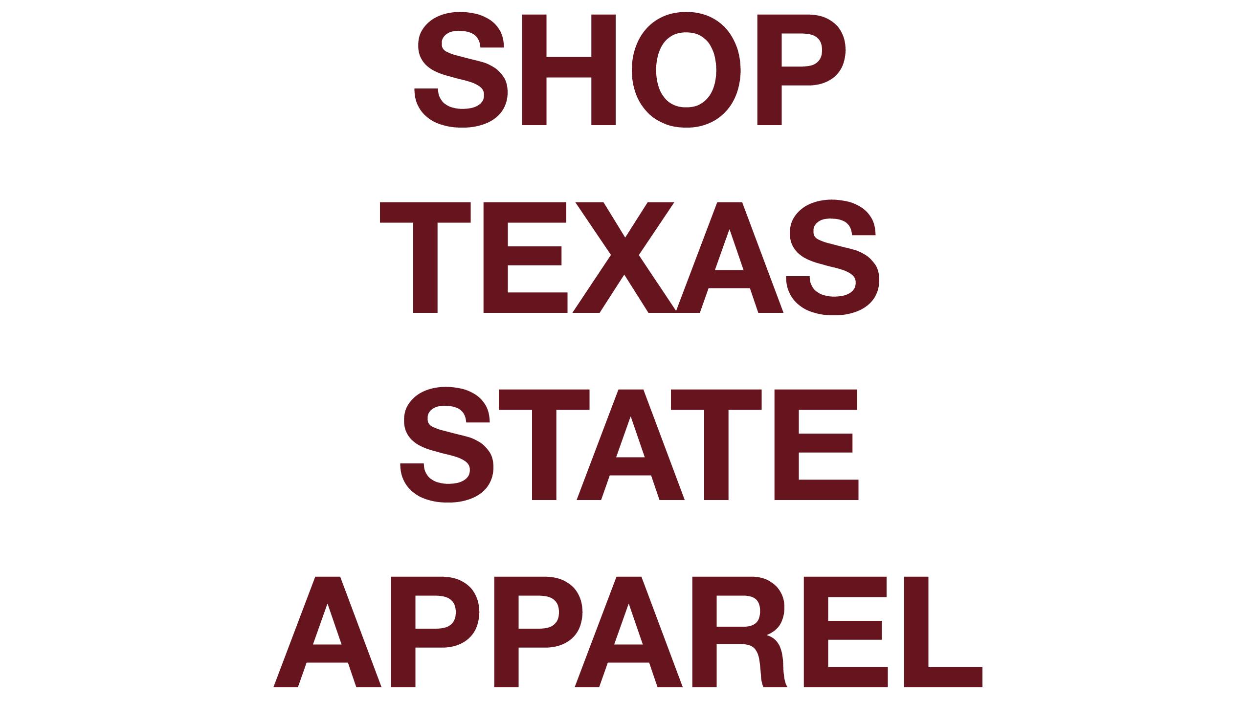 Shop Custom Apparel, Shop Texas State Apparel, Texas State University Apparel, TXST Apparel