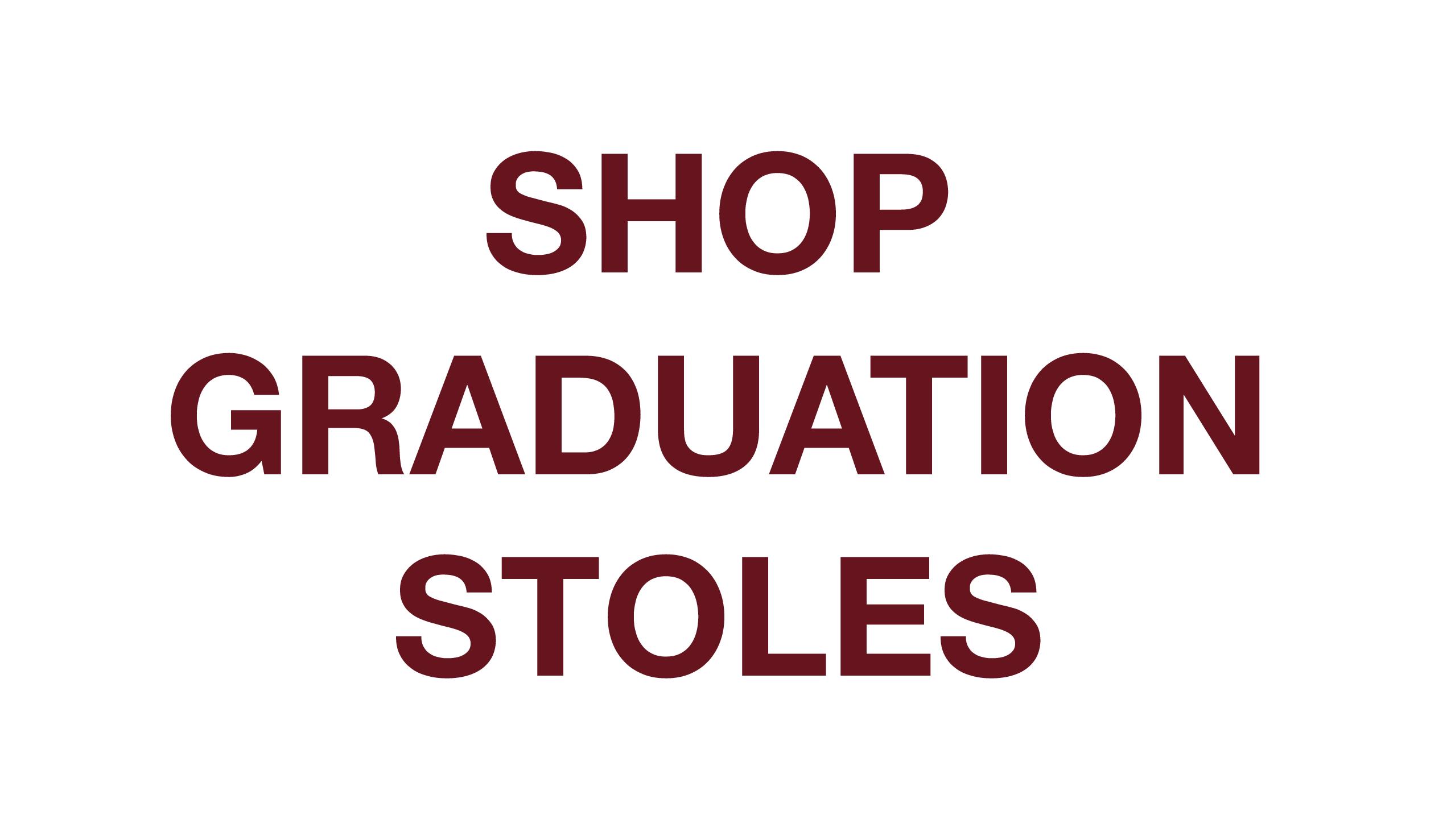 Customize Graduation Stoles, Greek Life Graduation Stoles, Graduation Sashes, Customize Texas State Graduation Stole