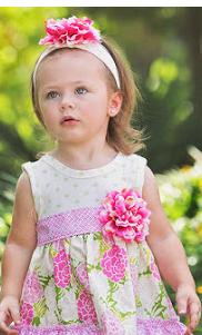 Baby Sara stripe tunic leg set