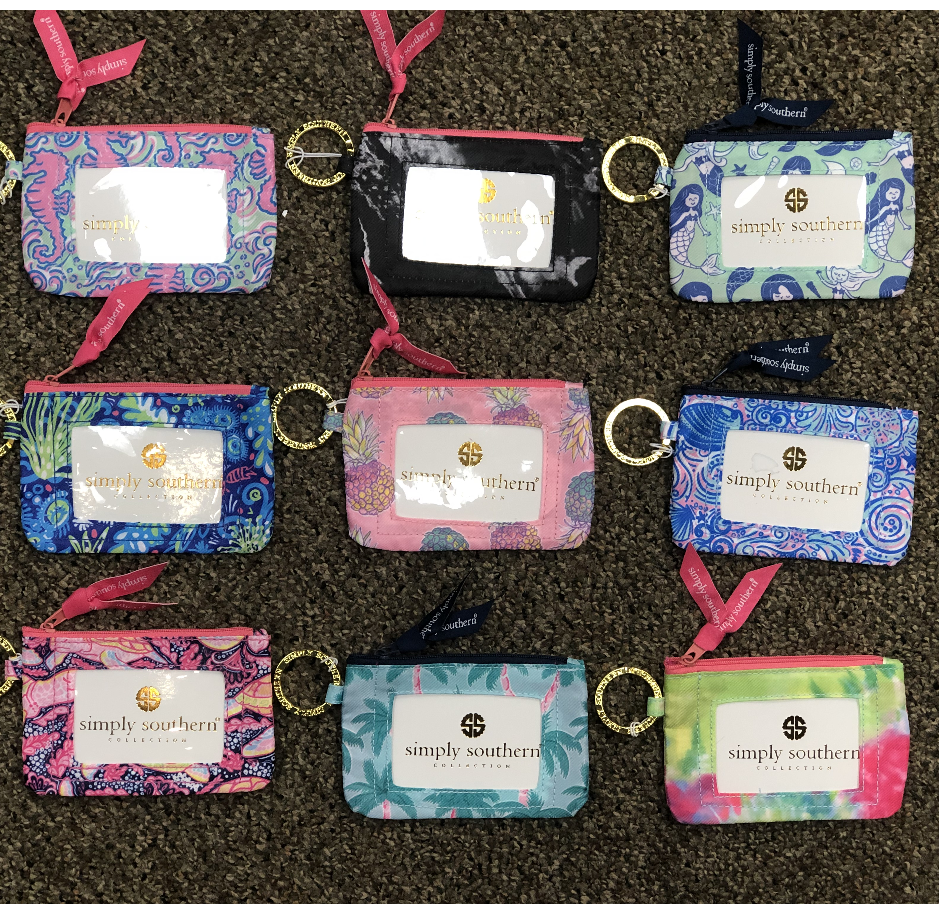 simply southern luggage tag