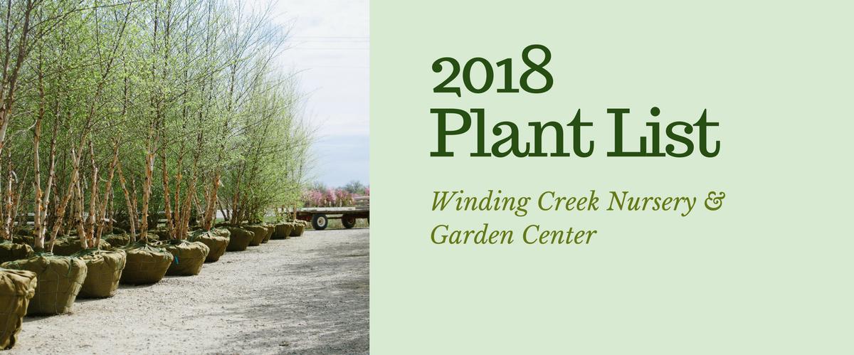2018_Winding_Creek Nursery_Stock_Catalog