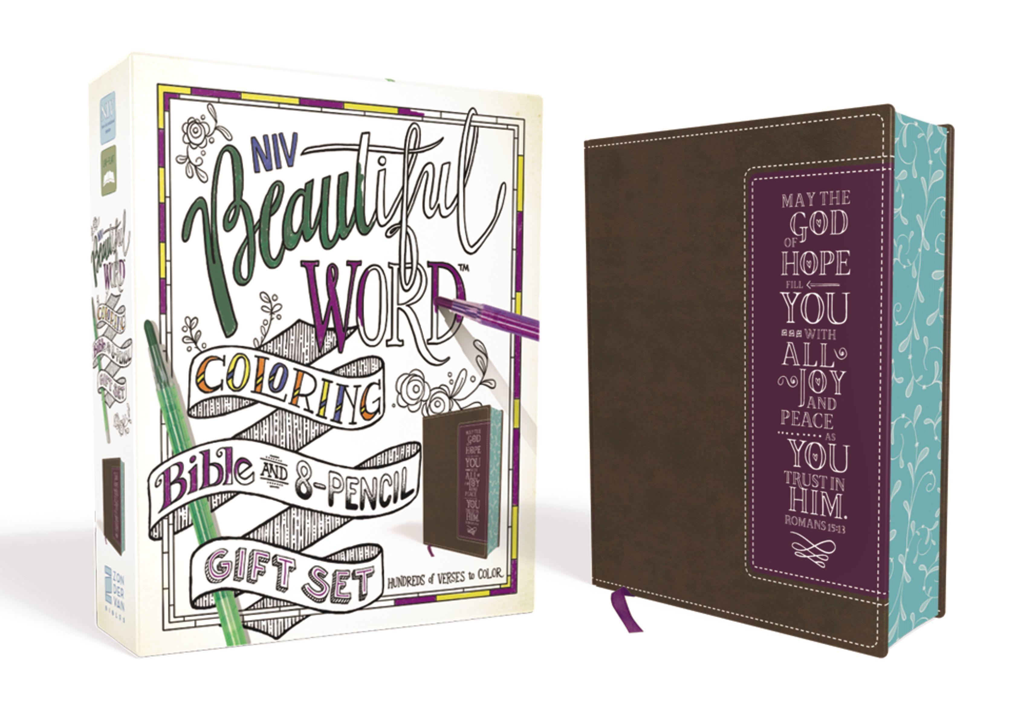 Bible a 8-pencil Gift Set