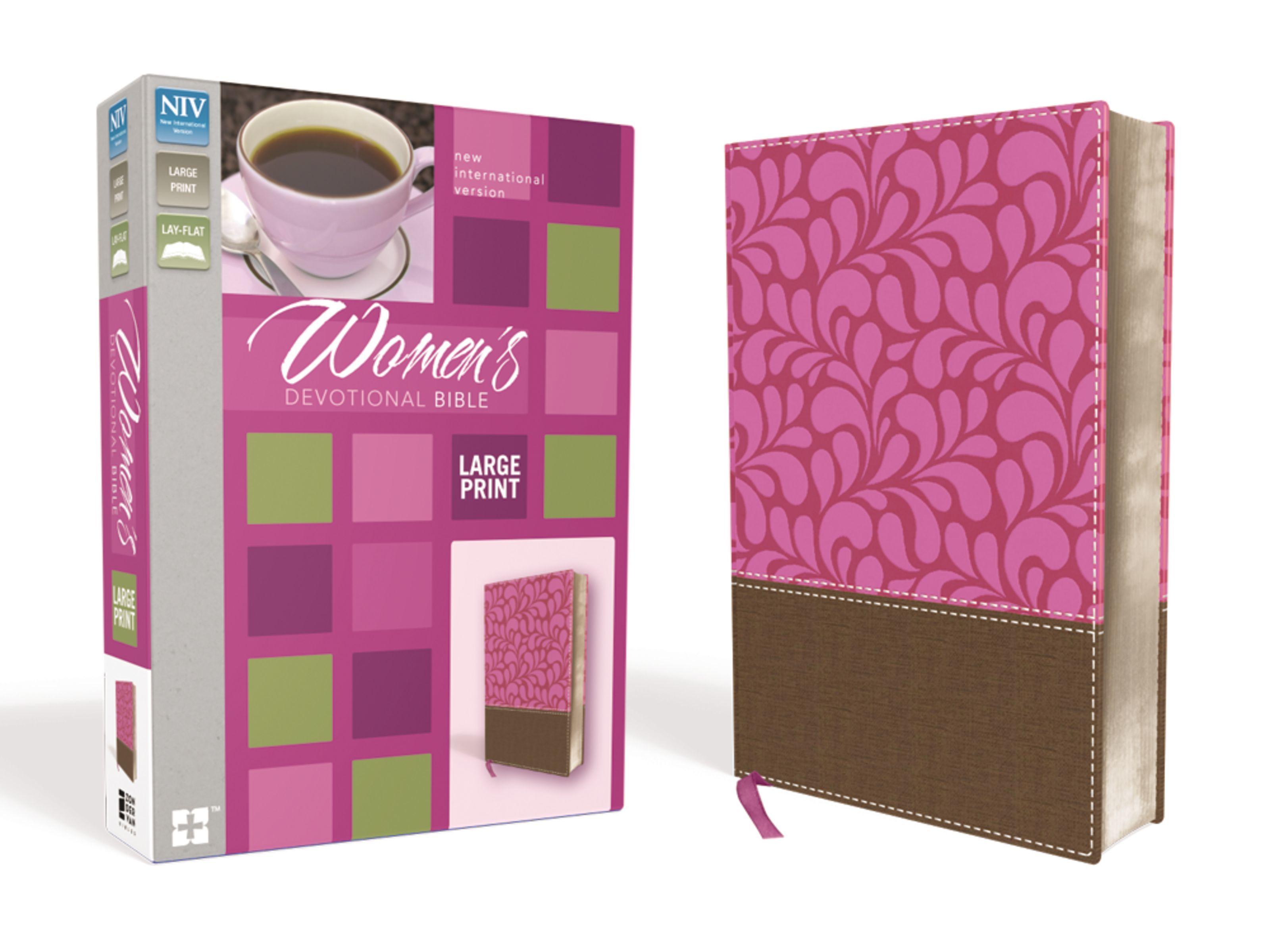 NIV Women's Devotional Bible- Large Print