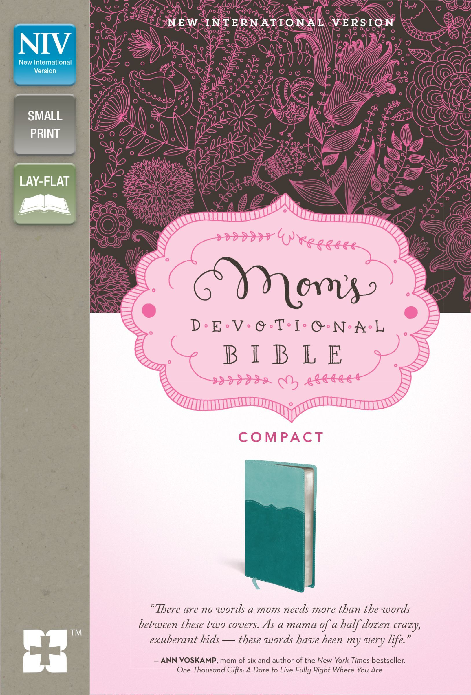 NIV Mom's Devotional Bible- Compact