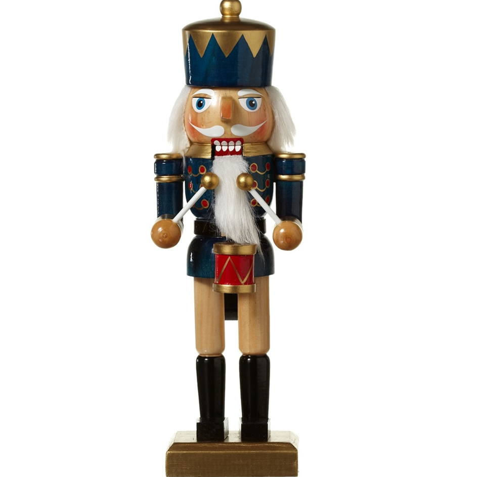 Medium Blue Coat Nutcracker