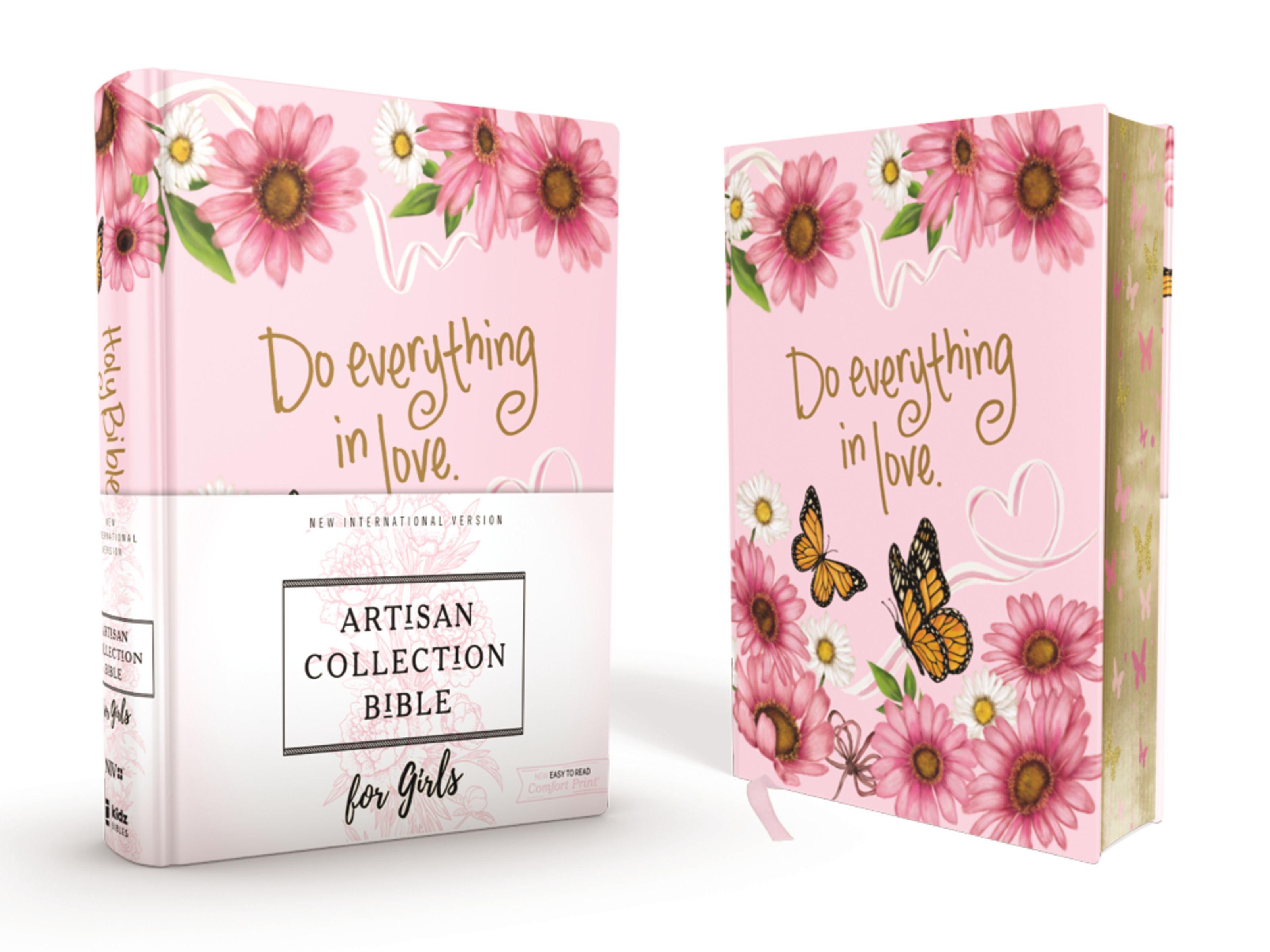NIV Artisan Collection Bible for Girls