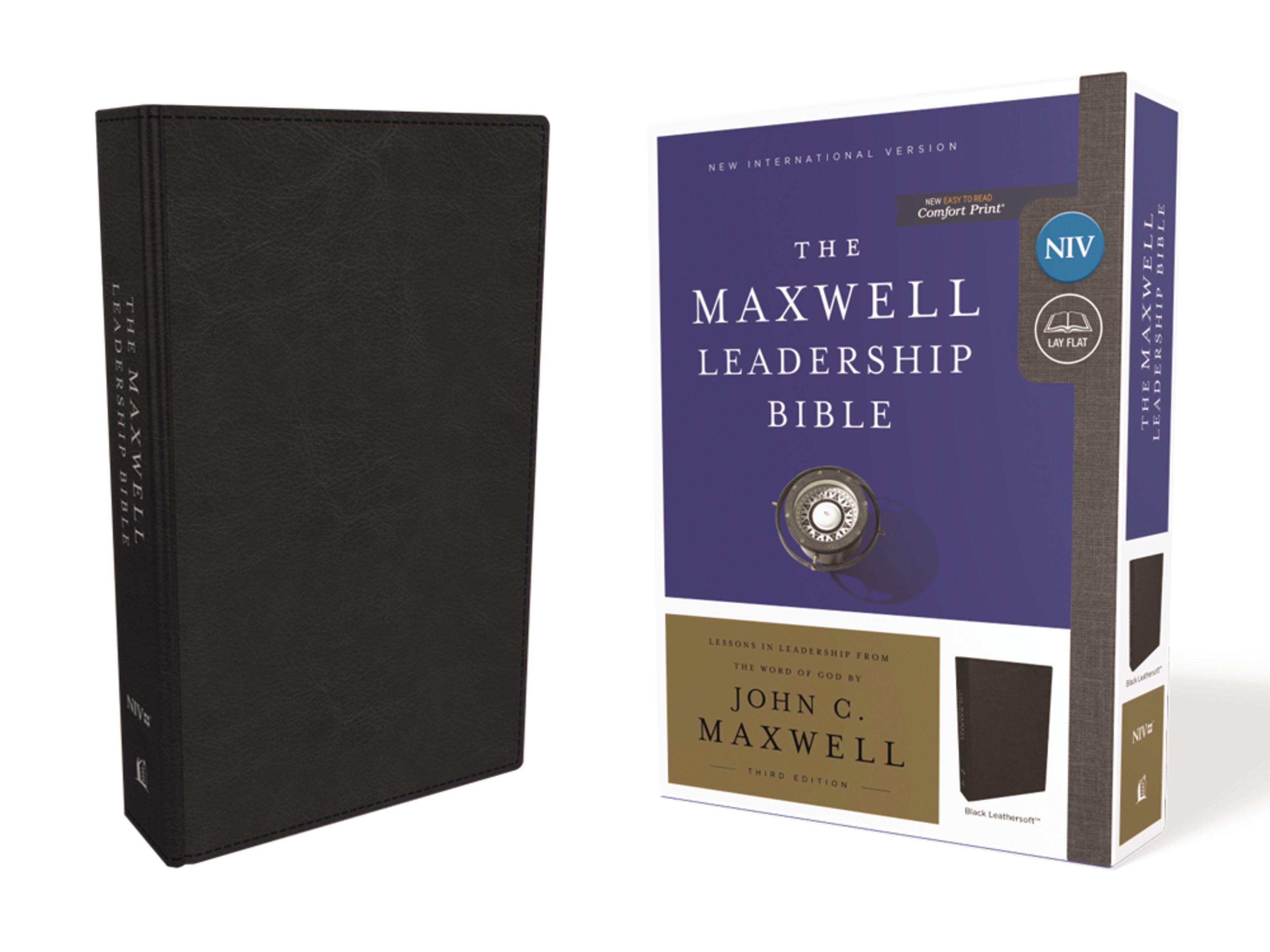 Maxwell Leadership Bible- NIV