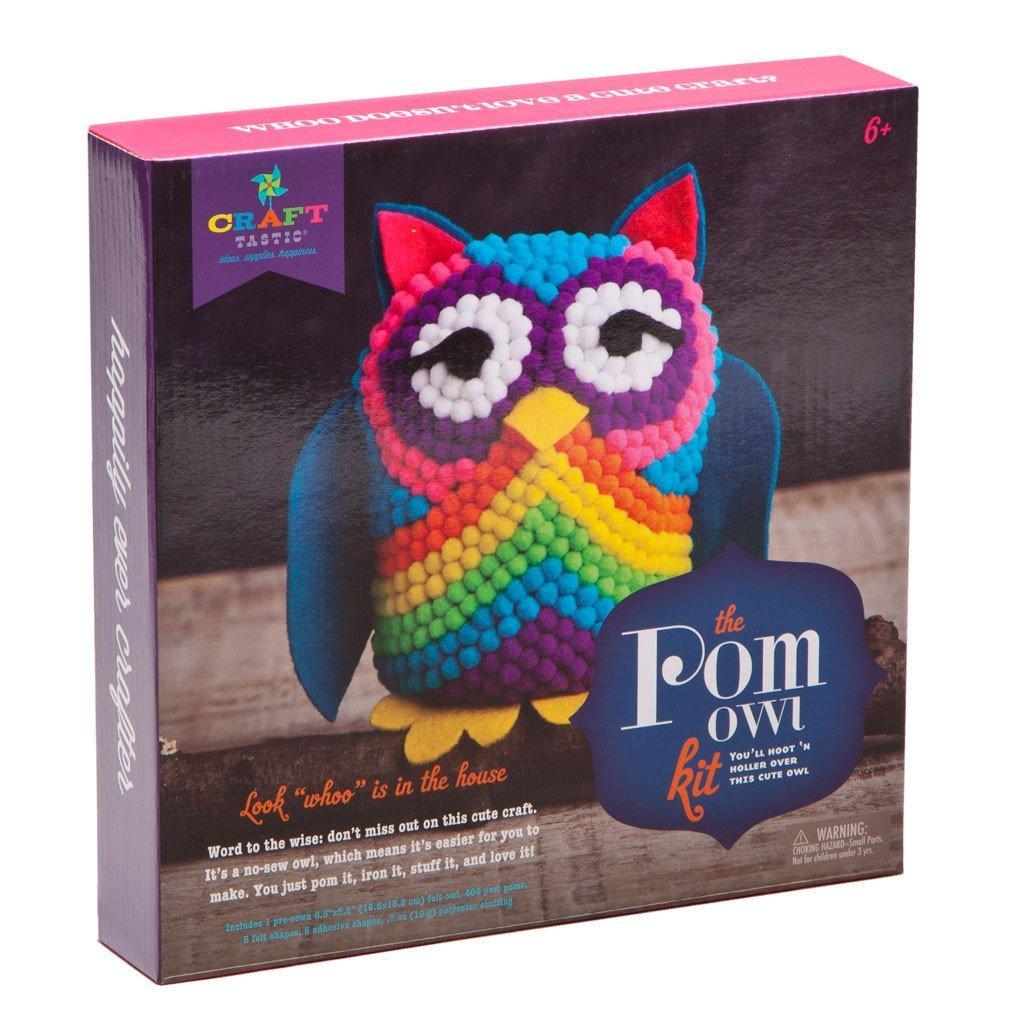 Pom Pom Owl Craft
