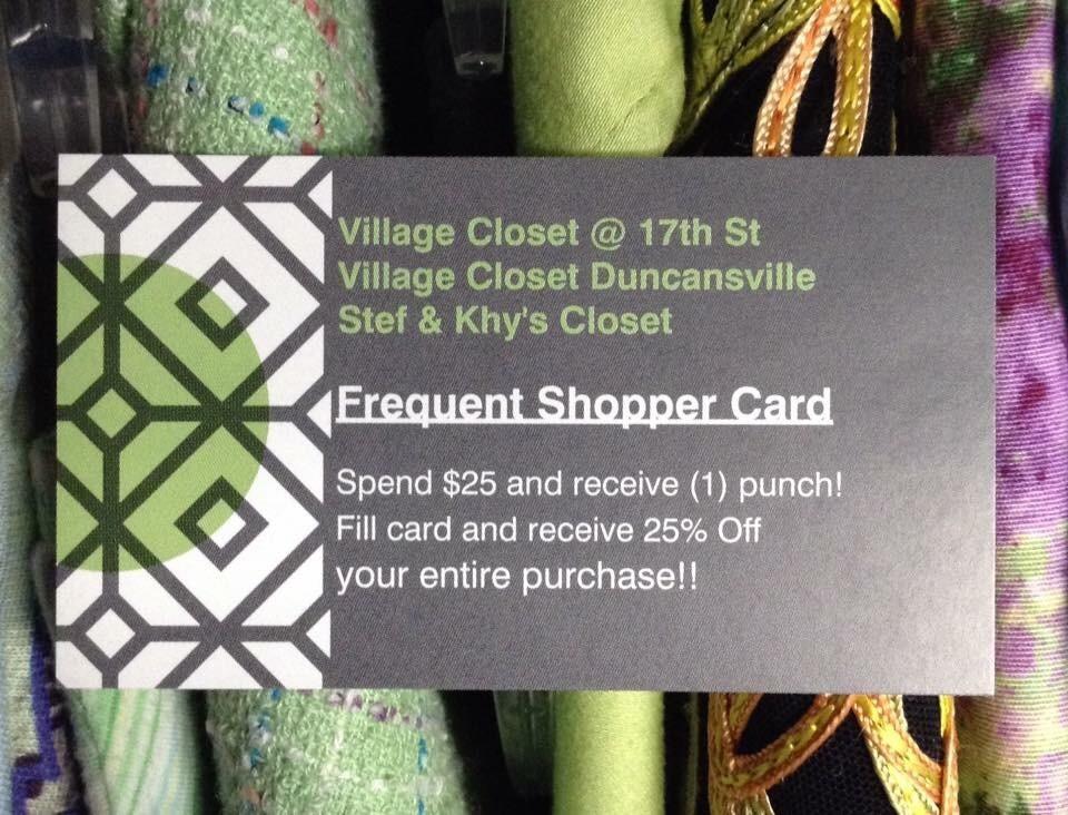 Village Closet @ 17th St