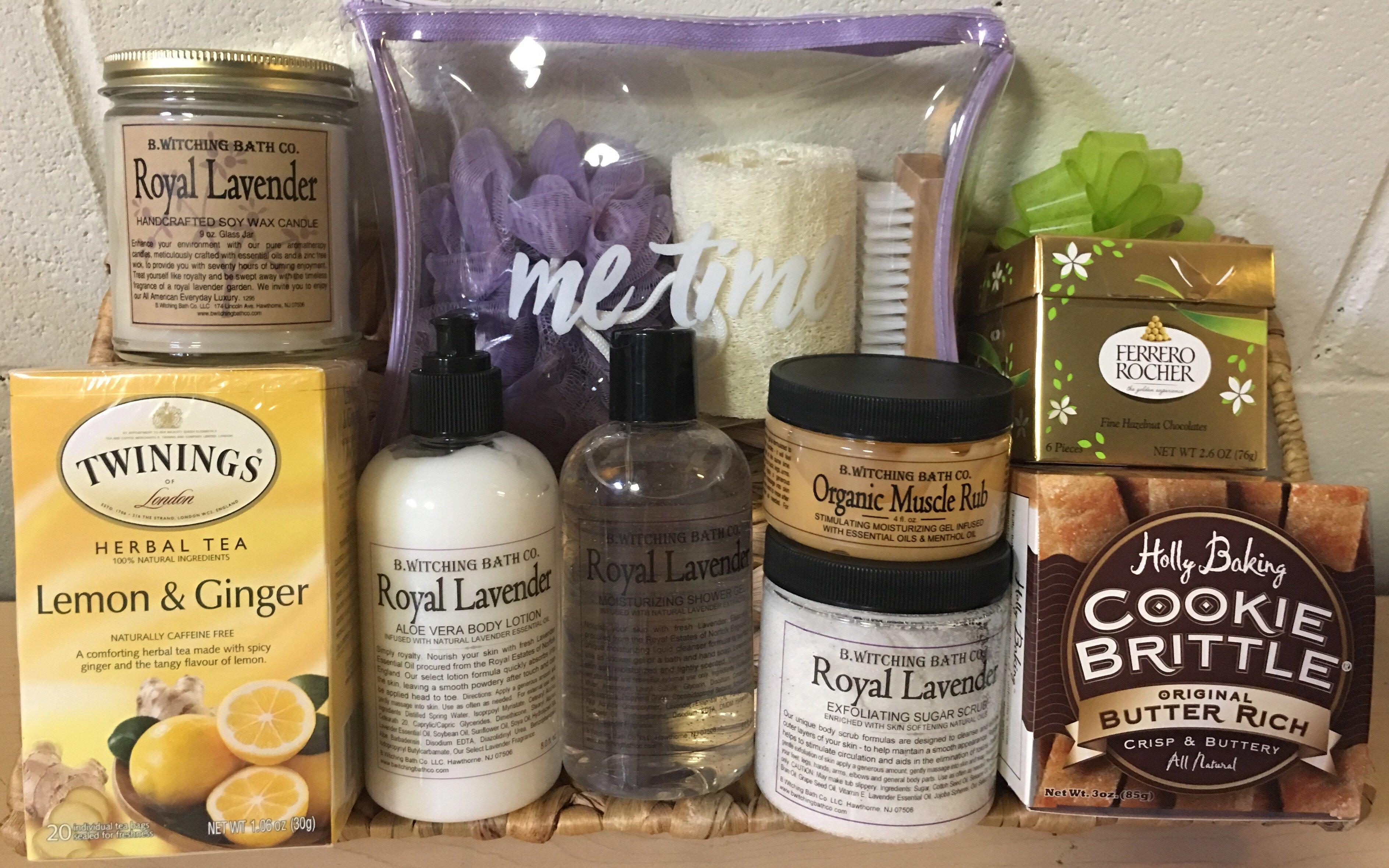 Lavender_Spa_Gift_Basket