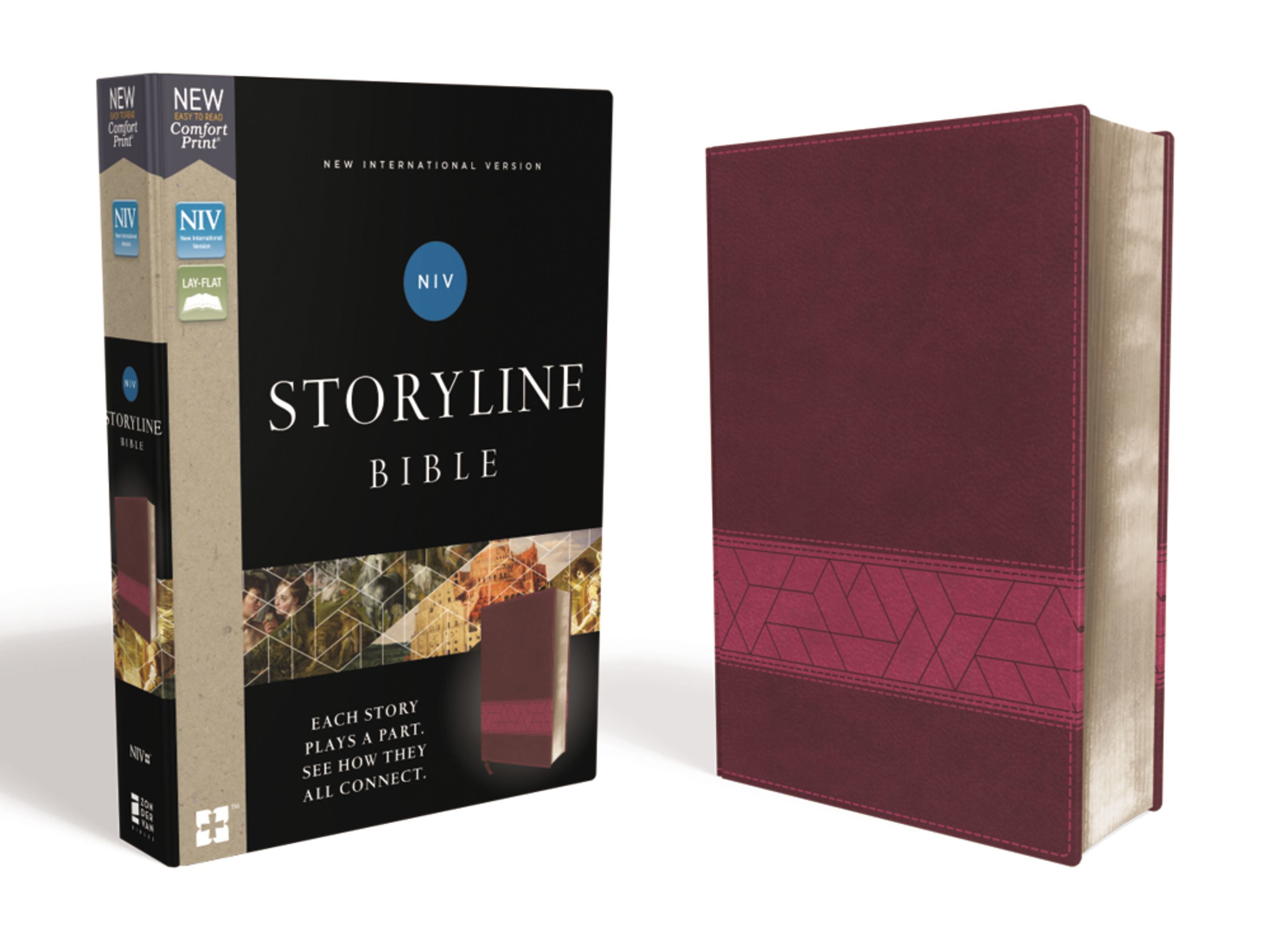 NIV Storyline Bible- Pink