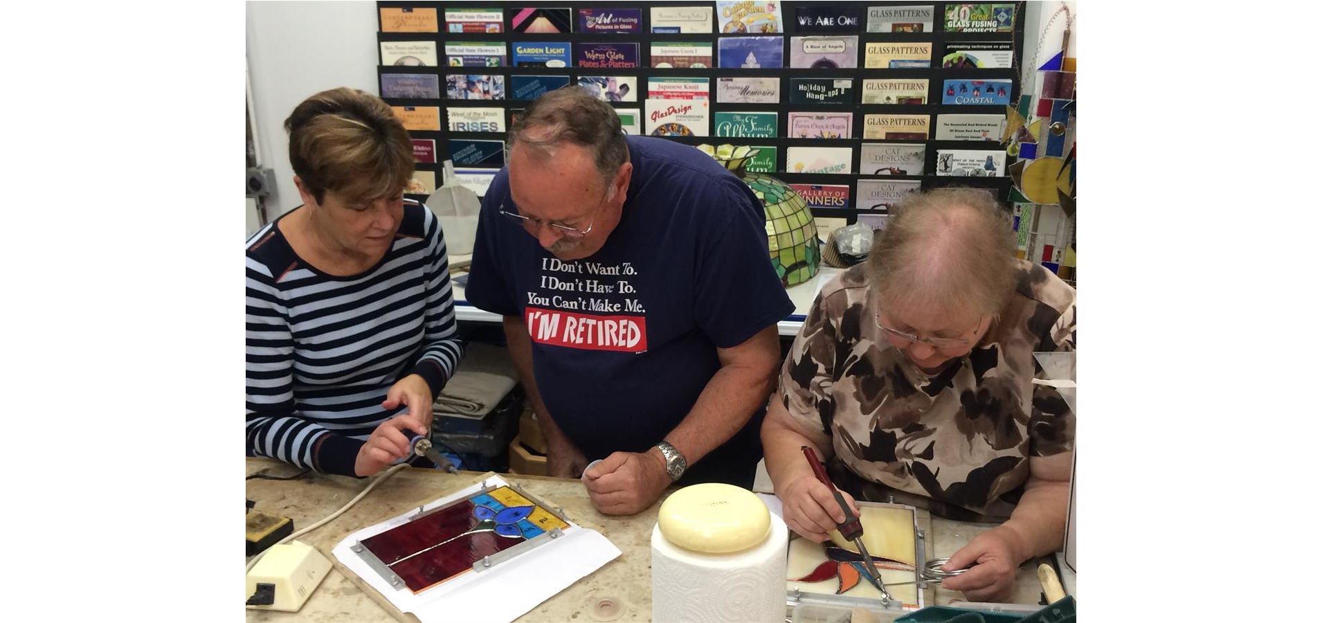 Weekend Stained Glass Bootcamp