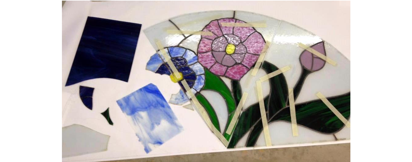 Stained Glass Repair Class