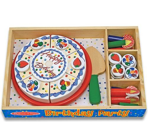 Wooden Birthday Party