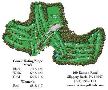 Oakview Golf Club course