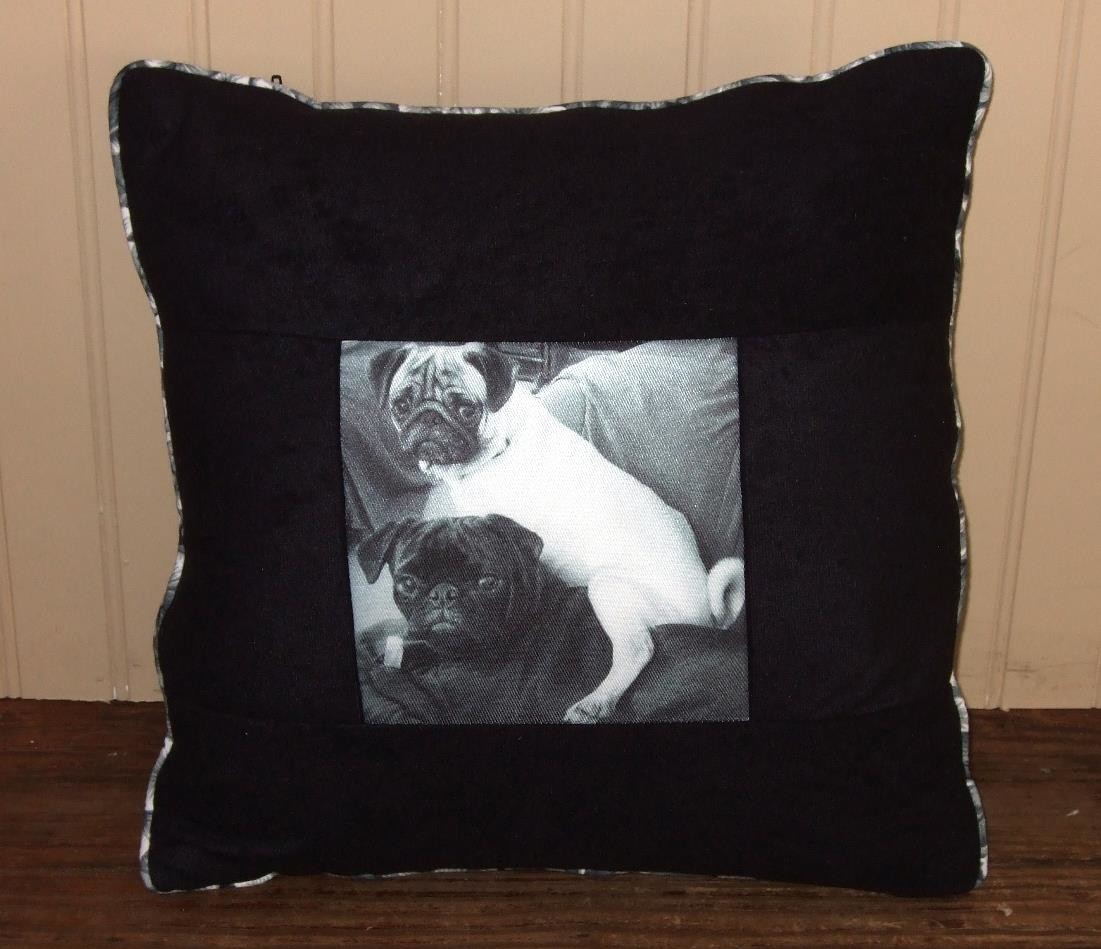 Personalized photo pillow