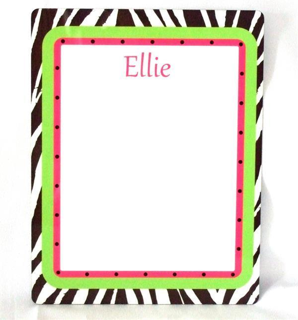 My ProductCustom dry erase board with name or monogram  DEB1001