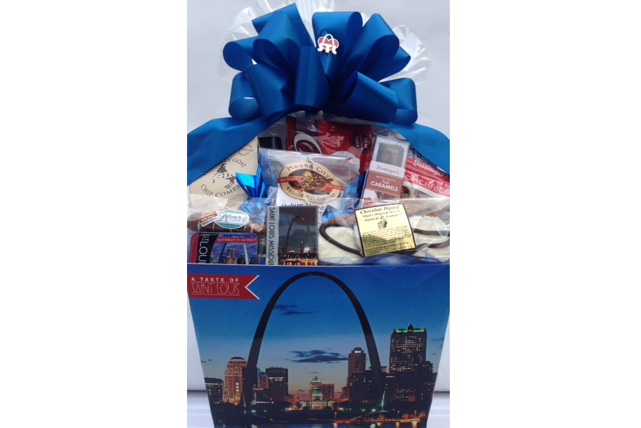 Taste of St Louis Gift Basket Box