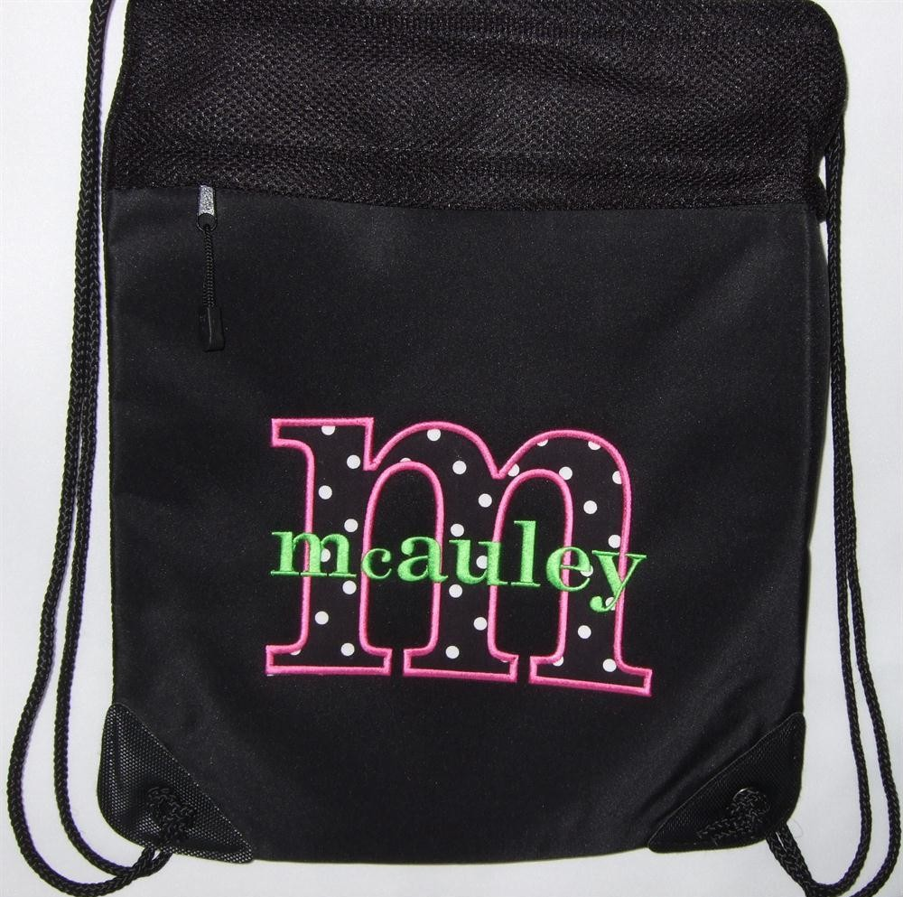 Personalized cinch pack