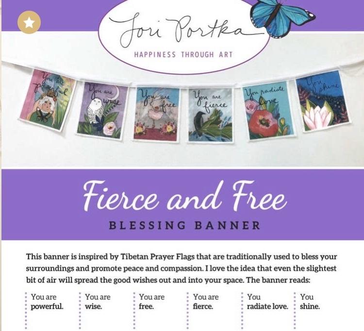 Fierce & Free Banner