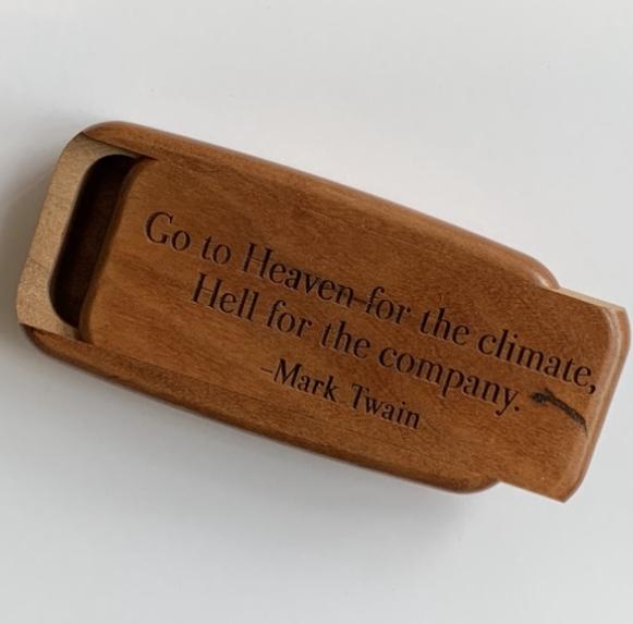 Heartwood Box Mark Twain
