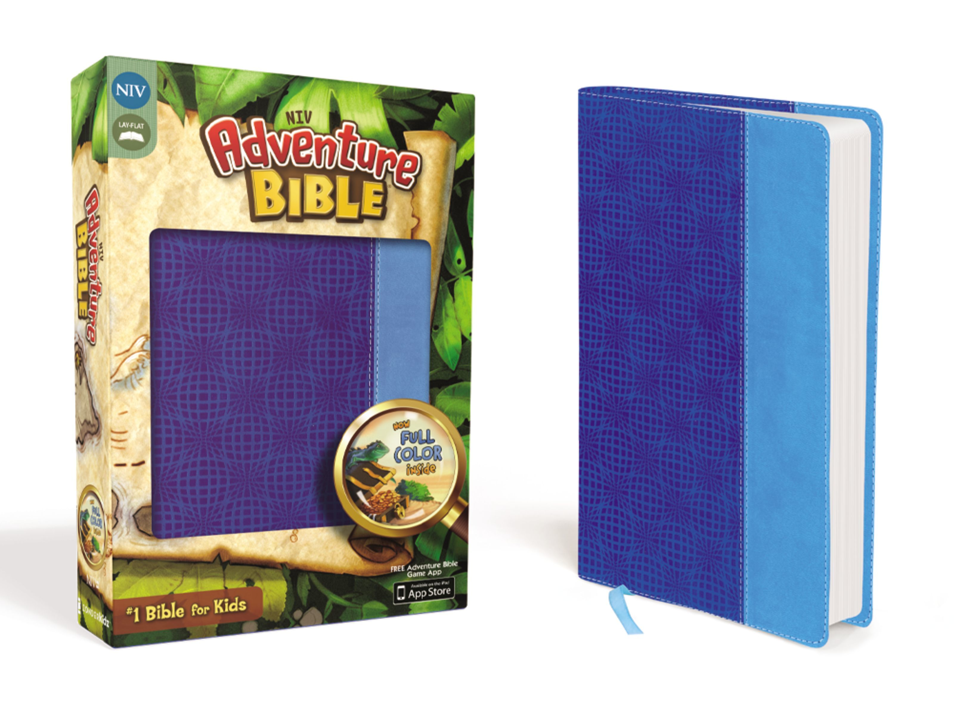 NIV Adventure Bible- Blue Two Tone