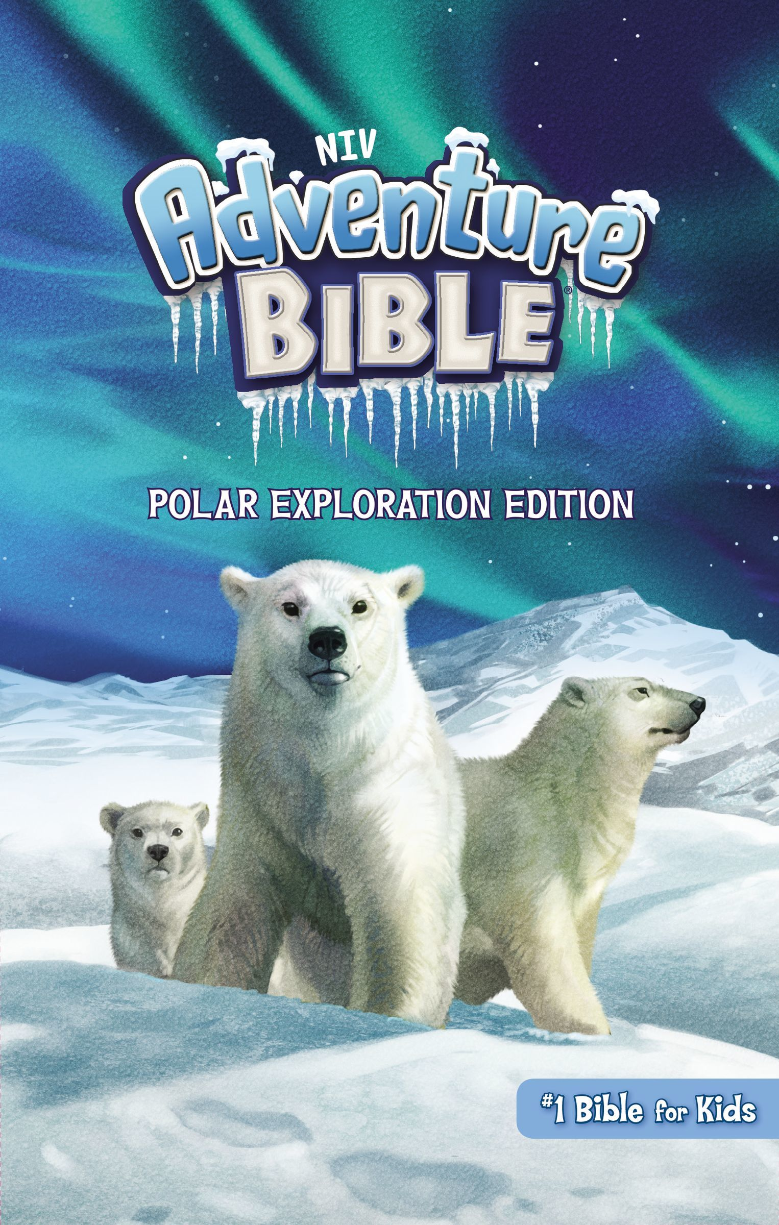 NIV Adventure Bible- Polar Exploration Edition, Hardcover