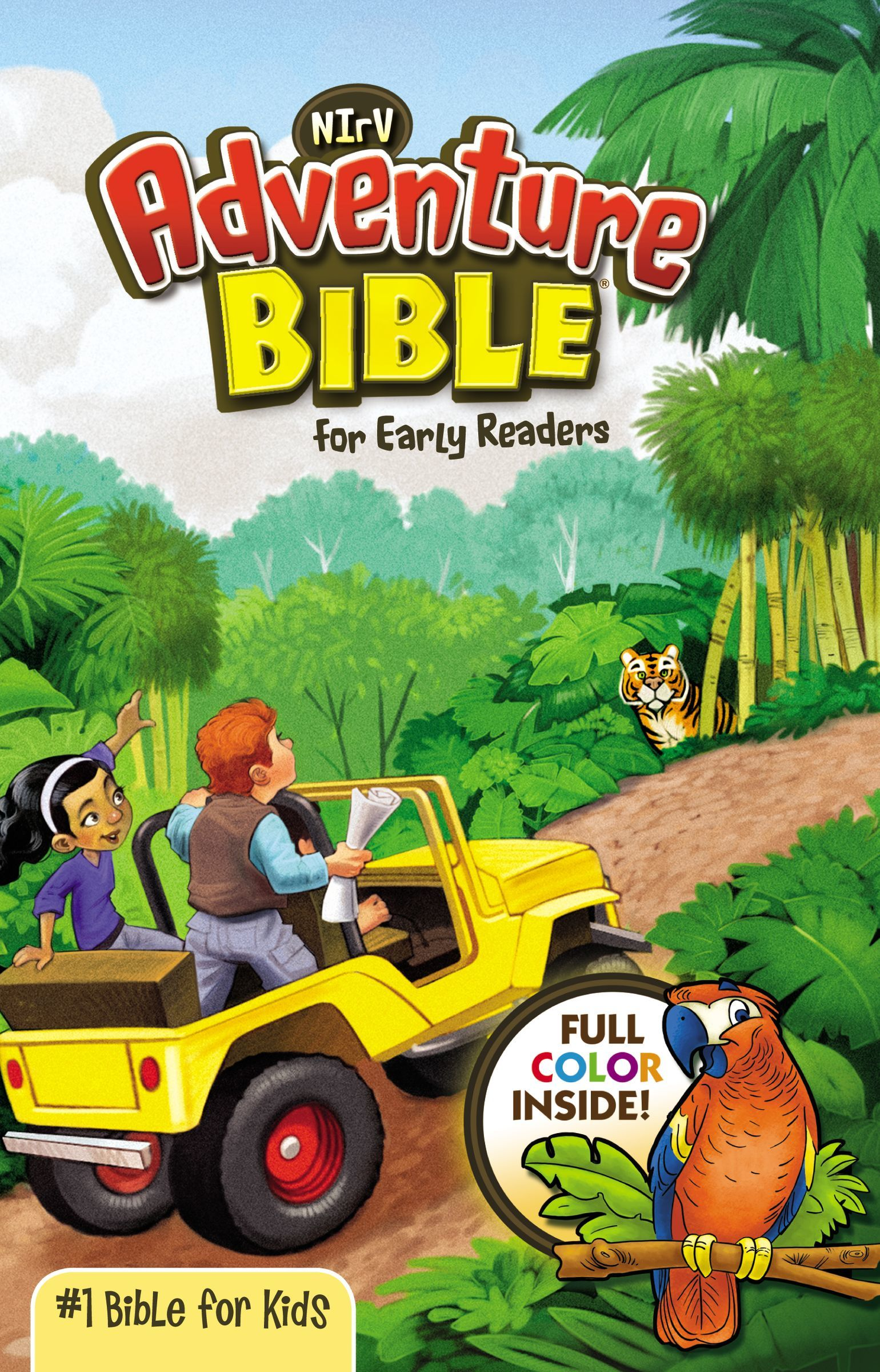 NIrV Adventure Bible- Hardcover