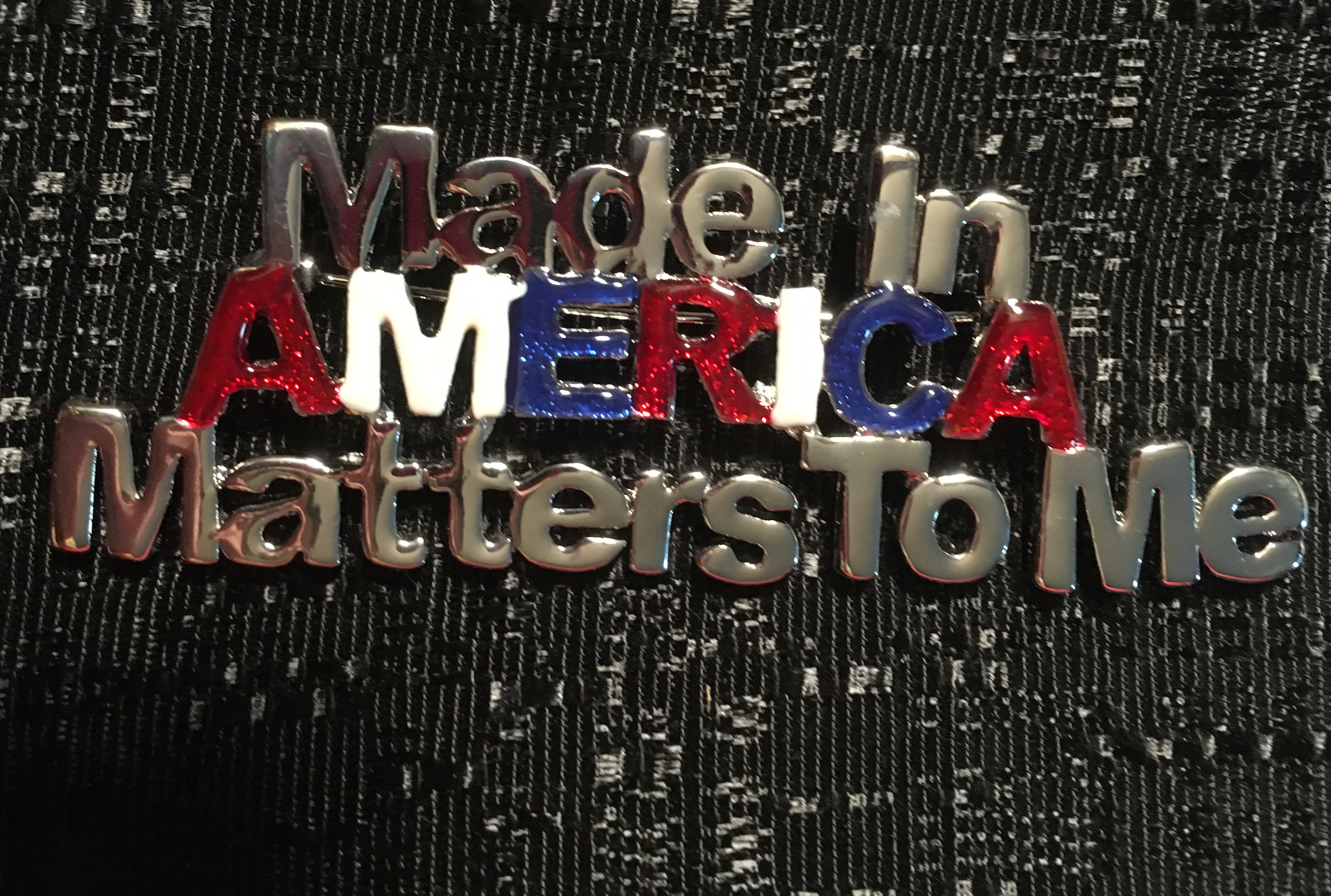 Made in America Pin