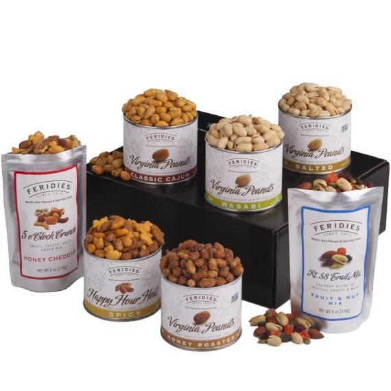 Peanut Sampler, FERIDIES, Peanuts, Virginia, gift