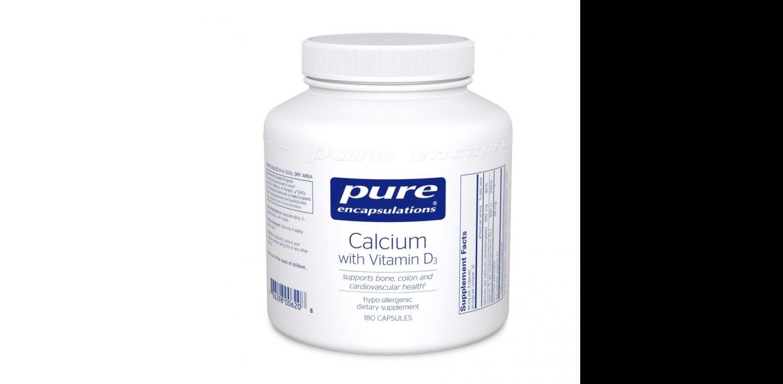 Calcium w/ Vitamin D3 180ct