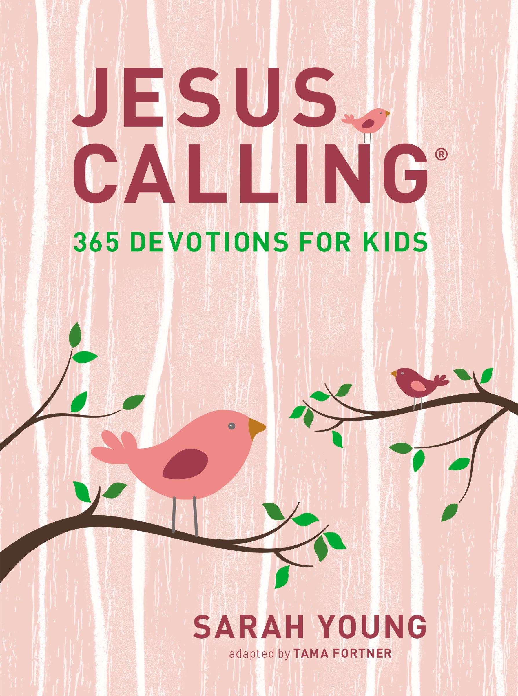 Jesus Calling : 365 Devotions for Kids (Girls Edition)