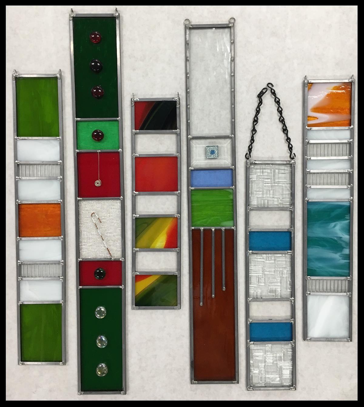 Art strip samples
