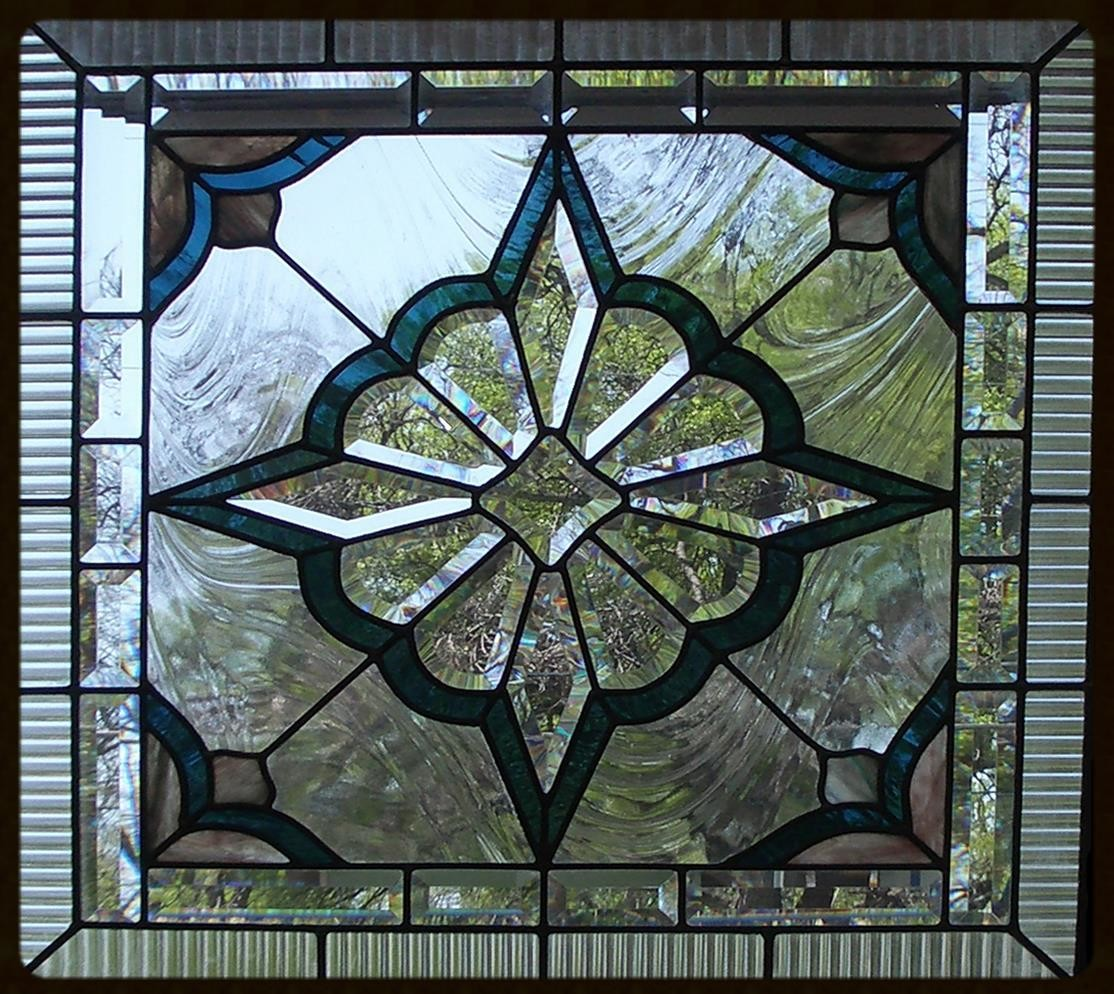 itermediate lead stained glass class example