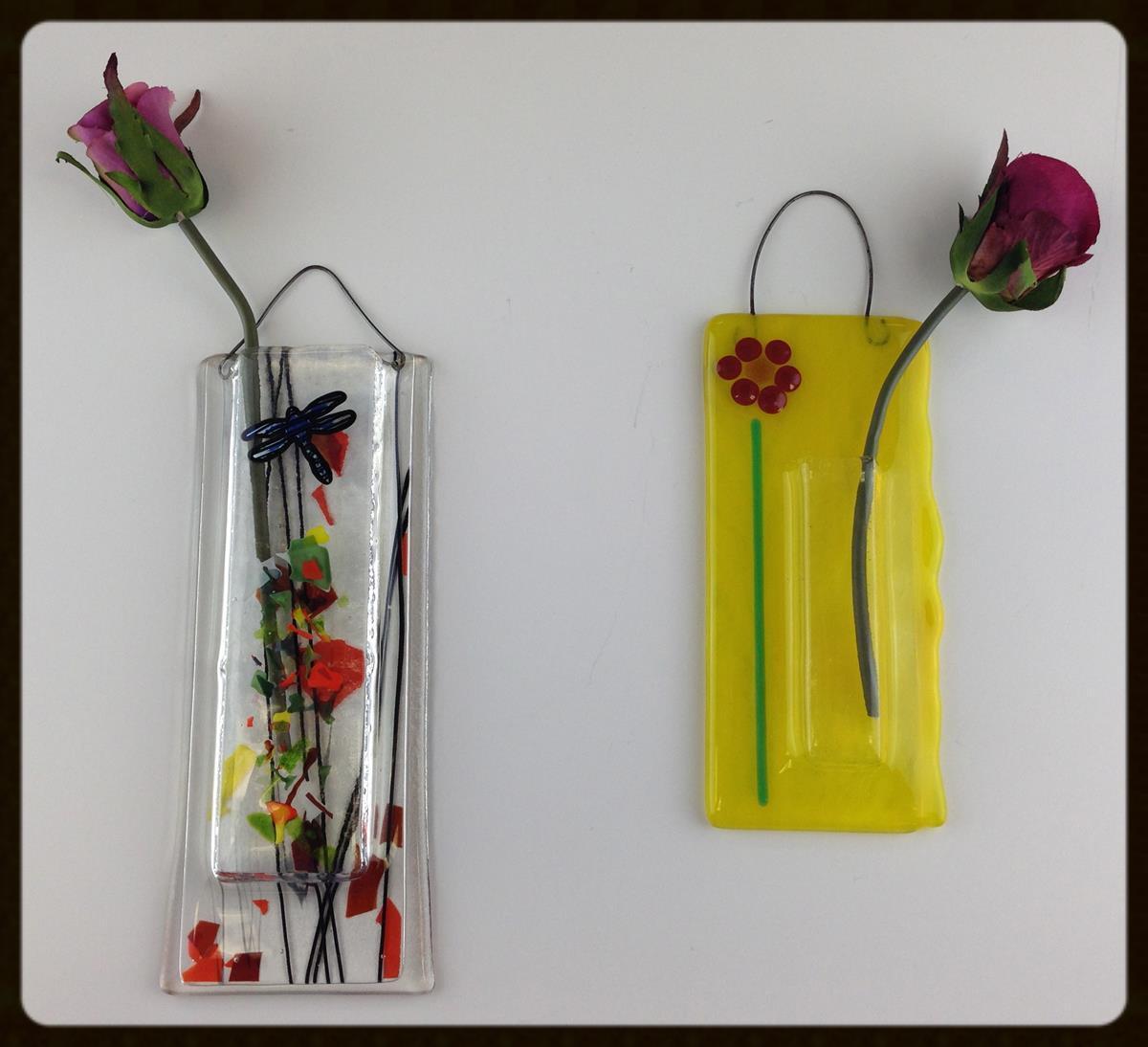 Fusing wall vase example