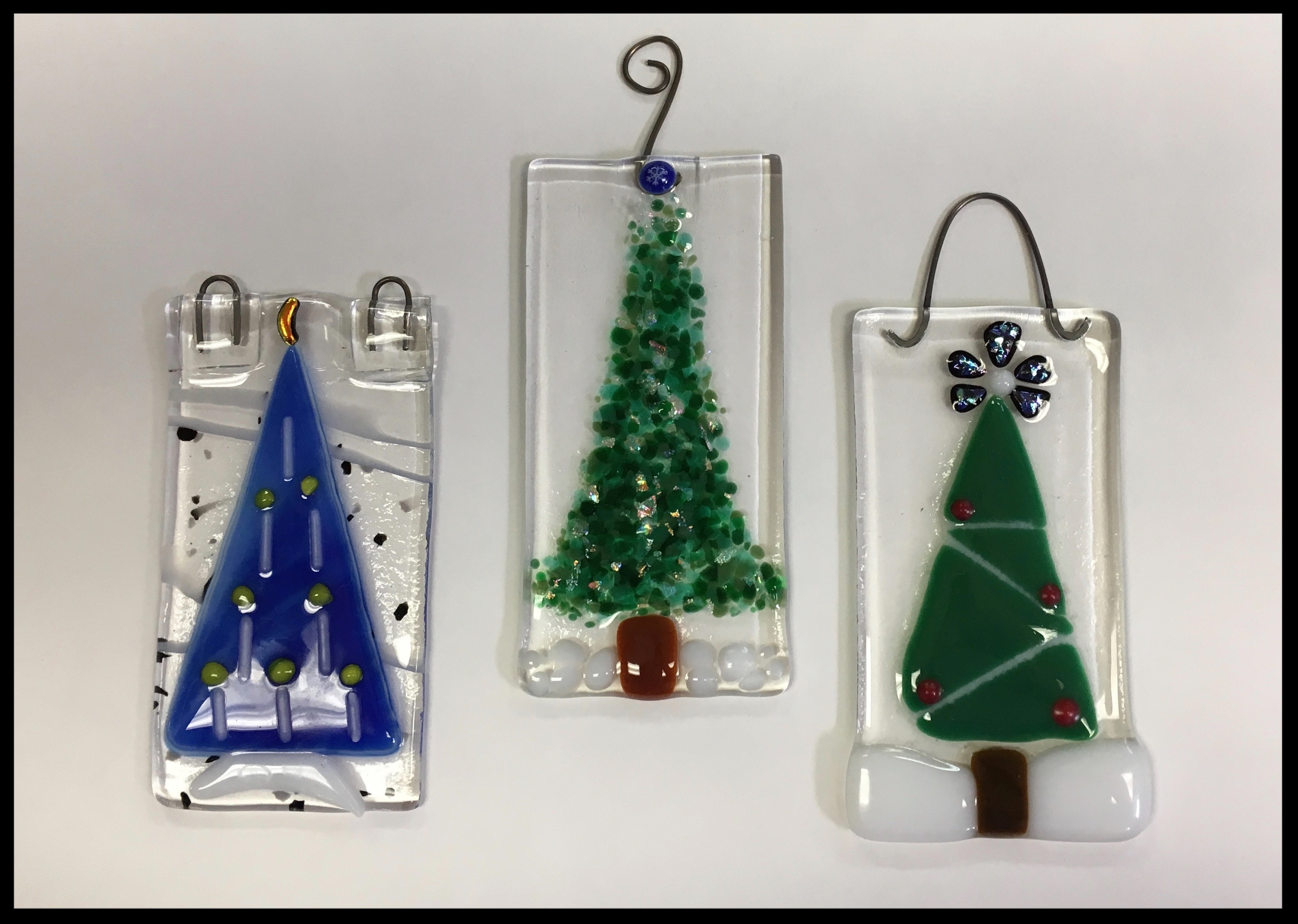 Fusing holiday ornament example