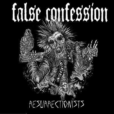 False Confession - Resurrectionists LP (Orange)