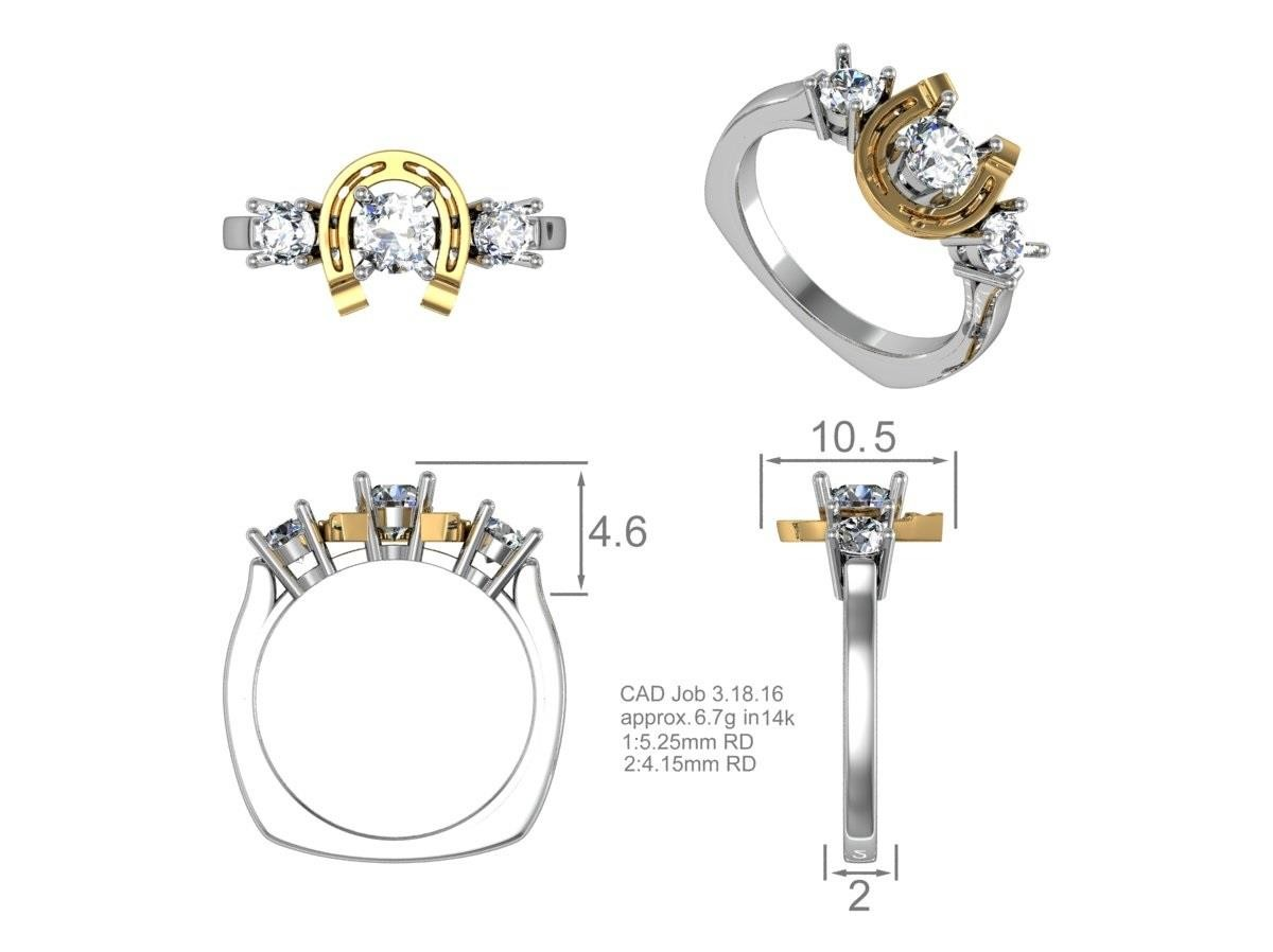 CAD drawing kluh jewelers