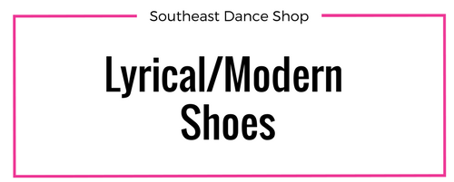 Online store Lyrical/Modern Shoes Southeast Dance Shop