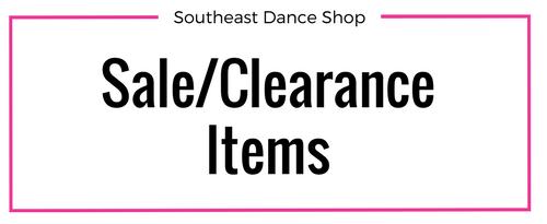 sale clearance items southeast dance shop