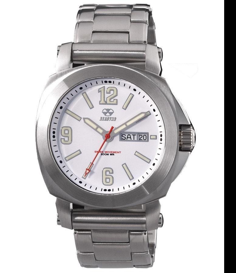 REACTOR Fermi steel sports watch