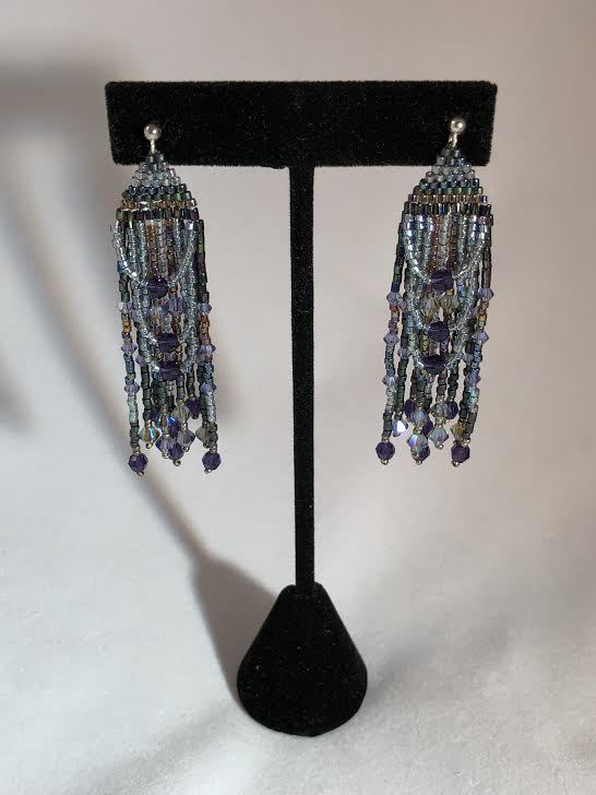 Glam 20's Chandelier Earrings