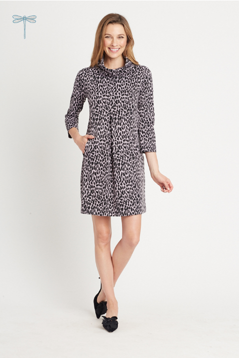 Kim Dress in Cheeta Print