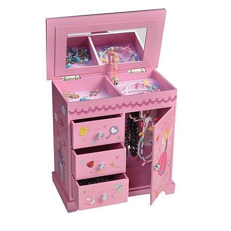 Krista Ballerina Musical Jewelry Box