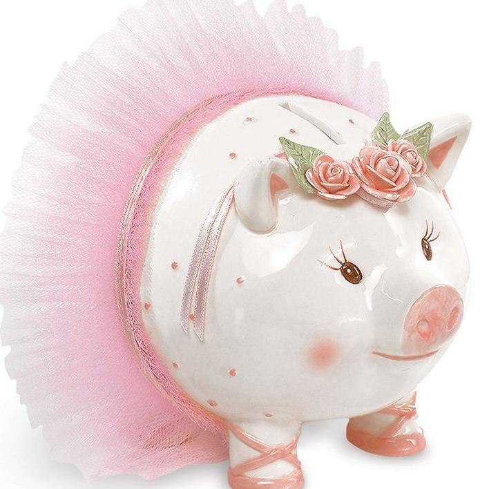 Ballerina Piggy Bank