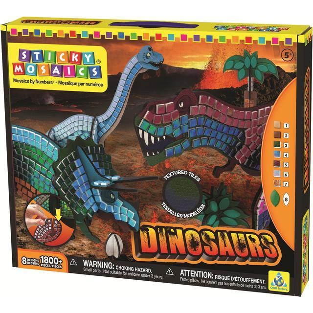 Sticky Mosaic Dinosaur