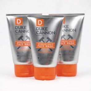 Duke Cannon Working Men Face Wash